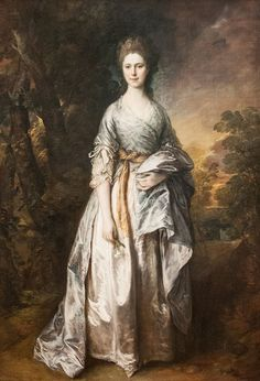 Portrait of Maria, Lady Eardley (Thomas Gainsborough - )