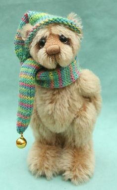 pipkins artist teddy bears collectable cute girl bears - Clifford