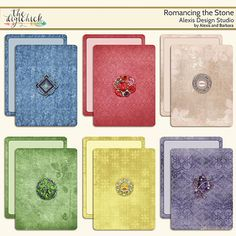 <p>Journal/Pokcet Cards, by Alexis Design Studio</p>
