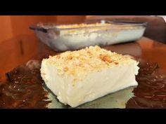 Απίθανο λεμονογλυκό με γιαούρτι!! - YouTube Greek Desserts, Greek Recipes, Candy Recipes, Dessert Recipes, Greek Pastries, Greece Food, Cream Cake, No Bake Cake, Jelly