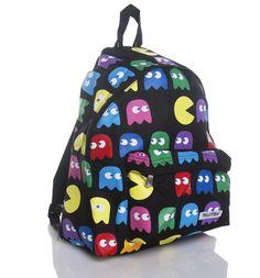 GEEK FASHION / Retro Gamer Ghosts Backpack : TruffleShuffle.com