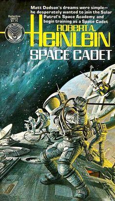 Robert Heinlein, Space Cadet  #RobertHeinlein  #SciFi