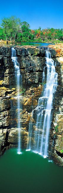 Merten Falls, Kimberly, Western Australia ♥ Je t'aime Skippy loves this Western Australia, Australia Travel, Australia Destinations, Queensland Australia, Images Lindas, Last Minute Reisen, Places To Travel, Places To See, Vacation Places