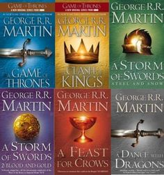 A Song of Ice and Fire Series by George R. R. Martin (the Game of Thrones books)    These books are so freaking long, but worth it if you have the endurance.