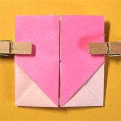折り紙でハート窓の折り方!簡単バレンタインメッセージの作り方 | セツの折り紙処 Origami, Crafts, Manualidades, Origami Paper, Handmade Crafts, Craft, Arts And Crafts, Artesanato, Origami Art
