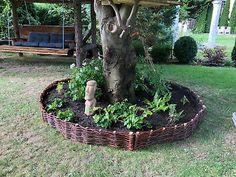 beeteinfassung – Google-Suche Wicker, Nature, Plants, Lounge, Google, Flower Beds, Terrace Garden, Natural Garden, Insect Hotel