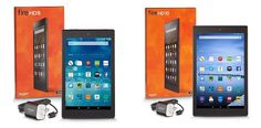 Win a Kindle Fire HD 8 & 6 Month Kindle Unlimited!
