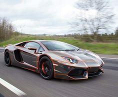 Lamborghini aventador tron lines