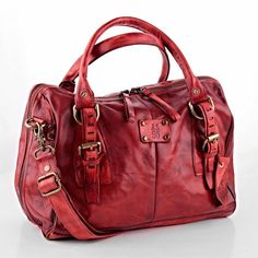 This color #as98 #handbag #bloodred #leather #handcrafted #musthave