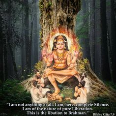 Sri Shiva Dakshinamurthy Gurú, el Sí mismo real de todo eterno. Om Namah…