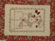 A christmas noel teddy present