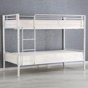 Giantex Metal Twin Over Twin Bunk Bed Modern Metal Steel Beds Frame with Ladder Adult Children Bedroom Dorm Furniture Bunk Beds For Boys Room, Adult Bunk Beds, Twin Bunk Beds, Kid Beds, Modern Bunk Beds, Metal Bunk Beds, Futon Bunk Bed, Steel Bed Frame, Bed Dimensions