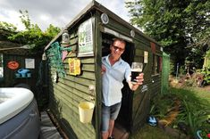 Let us know in the comments how you'd design your pub shed.