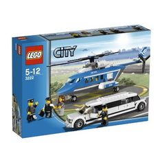 Amazon.com: LEGO City Set #3222 Helicopter Limousine: Toys & Games