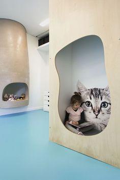 A Happy Place: 'Nipiaki Agogi' Kindergarten by Proplusma Arkitektones | http://www.yatzer.com/nipiaki-agogi-kindergarten-proplusma-arkitektones photo © Nikos Alexopoulos.