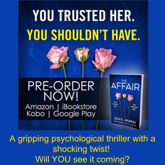 A gripping psychological thriller with a shocking twist!  Will YOU see it coming?