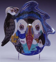 Puffin Mask By Ruth Brockmann