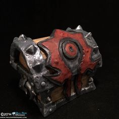 World of Warcraft Chest Engagement Ring Box - When Geeks Wed