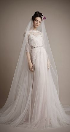 Ersa Atelier 2015 Bridal Collection | bellethemagazine.com