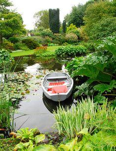 Beth Chatto Gardens in Elmstead Market, Essex, England
