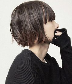 Pin by Gail Sexton on hair in 2019 is part of Short Haircuts And Hairstyles For Girls In - Pin by Gail Sexton on hair in 2019 Hair inspo, Hair, Hair cuts Choppy Bob Hairstyles, Short Hairstyles For Women, Hairstyles With Bangs, Hairstyle Short, Style Hairstyle, Hairstyle Ideas, Hair Inspo, Hair Inspiration, Short Hair Cuts