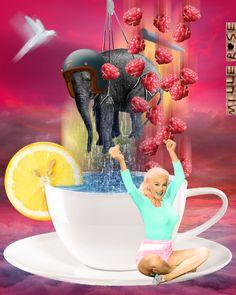 Collages, Surreal Collage, Collage Art, Color Collage, Trippy, Storm In A Teacup, Vintage Pop Art, Modern Pop Art, Cardboard Art