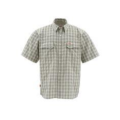 Simms Big Sky SS Shirt, Sagebrush Plaid, XXL