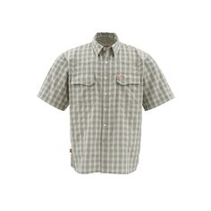 Simms Big Sky SS Shirt, Sagebrush Plaid, XXL