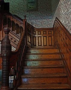 Victorian Stairs. Ocean Grove, New Jersey