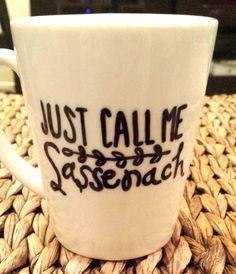 Just Call Me Sassenach  Outlander inspired mug by SincerelyEunice, $14.00