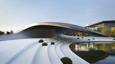 HENN's Porsche Pavilion, The Ultimate Car Park