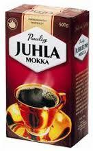 Pannujauhatus kahvi. Juhla Mokka tai joku muu.