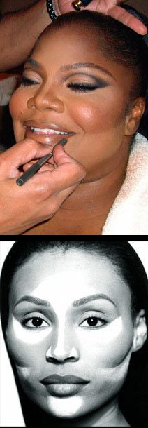 Facial Contouring by the wonderful Sam Fine.