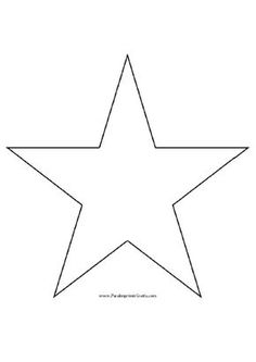 Star mold to print many free molds for those looking to make patches or fabric appliqués or whatever - Decorationn Graduation Cap Decoration, Graduation Cards, Cap Decorations, Free Stencils, Christmas Crafts, Patches, Fabric, How To Make, Rotc