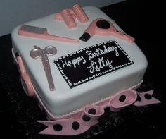 Hairdresser& Cake on Cake Central 15th Birthday Cakes, Birthday Cakes For Women, Cupcakes, Cupcake Cakes, Hairdresser Cake, Army Cake, Retirement Cakes, Cake Central, Birthday Cake Decorating