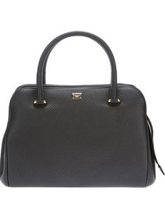 DOLCE and GABBANA Double Zip Fastening Black Tote  woman.jofre.eu