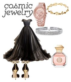 """Gemini ballroom outfit"" by mintiescupquake on Polyvore featuring Oscar de la Renta, Bling Jewelry and Tory Burch"