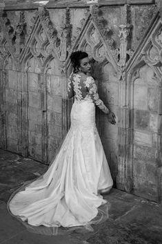 Stephanie Kate Bridal Couture - Platinum Collection / Bespoke Bridal - Made in England Kate Wedding Dress, Designer Wedding Dresses, Wedding Gowns, Lace Wedding, Simple Elegance, Elegant, White Tulle, Church Wedding, Beaded Lace