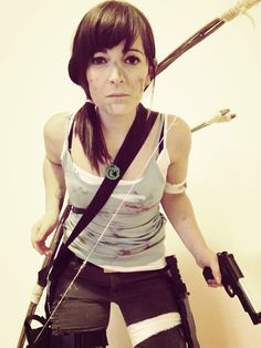 Lara Croft cosplay 2017