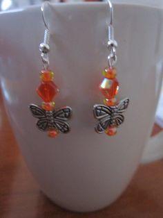 Tween HypoAllergenic SilverTone Butterfly by BeadazzlingButterfly, $12.00