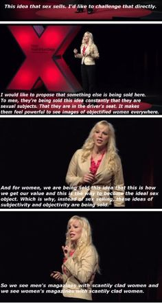 """From the """"Sexy Lie"""" TED Talk"""
