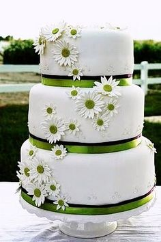 Net's Cake Decorating But would like with sunflowers and yellow ribbons.