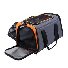 Lumsing Expandable Foldable Soft-sided Travel Carrier for Dogs and Cats >>> Learn more by visiting the image link. (This is an affiliate link and I receive a commission for the sales) #CatCare