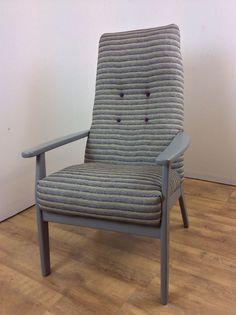 Retro Vintage Parker Knoll Armchair Fully Refurbished And Upholstered | eBay