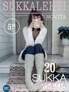 Women's cardigan Novita Isoveli, Wool Cotton and Nalle Dishcloth Knitting Patterns, Knitting Socks, Baby Knitting, Romper Pattern, Hooded Scarf, Crochet Magazine, Lace Sweater, Lace Patterns, Alpaca Wool