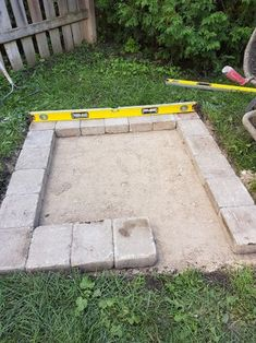 DIY Fire Place/Pit : 6 Steps (with Pictures) - Instructables Small Patio Design, Small Backyard Patio, Diy Patio, Backyard Seating, Garden Design, Diy Outdoor Fireplace, Backyard Fireplace, Cool Fire Pits, Diy Fire Pit