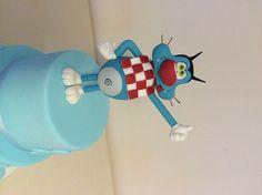 Oggi è i maledetti scarafaggi Disney Pixar, Walt Disney, Cake Tutorial, Cake Decorating, Polymer Clay, Boards, Drop, Cartoon, Miniatures