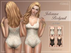 Sims 4 CC's - The Best: Bodysuits by Trillyke