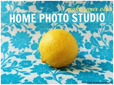 Make Your Own: At Home Photo Studio! | The Adventures of Z & K