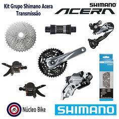 Kit Grupo Shimano Acera M3000 27V – Transmissão http://loja.nucleobike.com.br/index.php/produto/kit-grupo-shimano-acera-m3000-27v-transmissao/